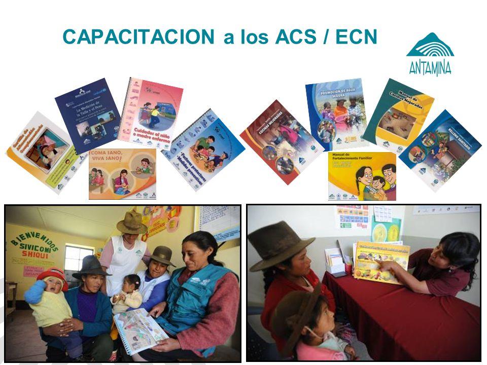 CAPACITACION a los ACS / ECN