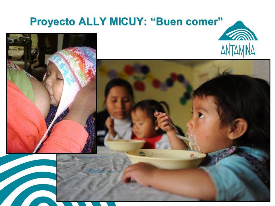 Proyecto ALLY MICUY: Buen comer