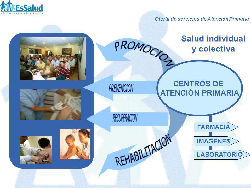 PROMOCION PREVENCION RECUPERACION REHABILITACION Salud individual