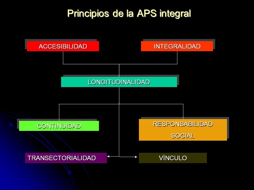 Principios de la APS integral