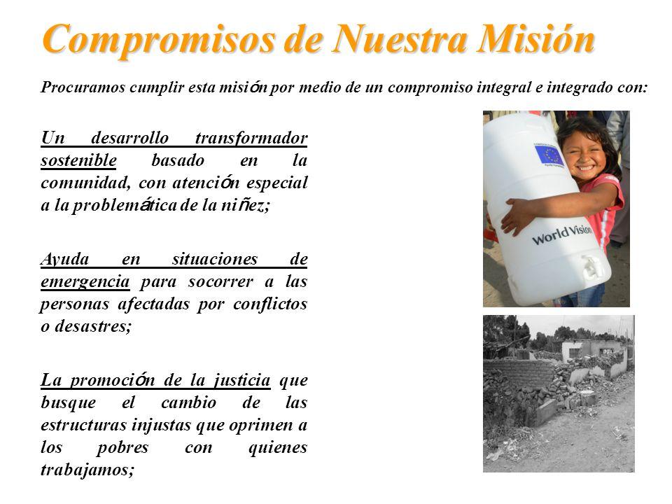Compromisos de Nuestra Misión