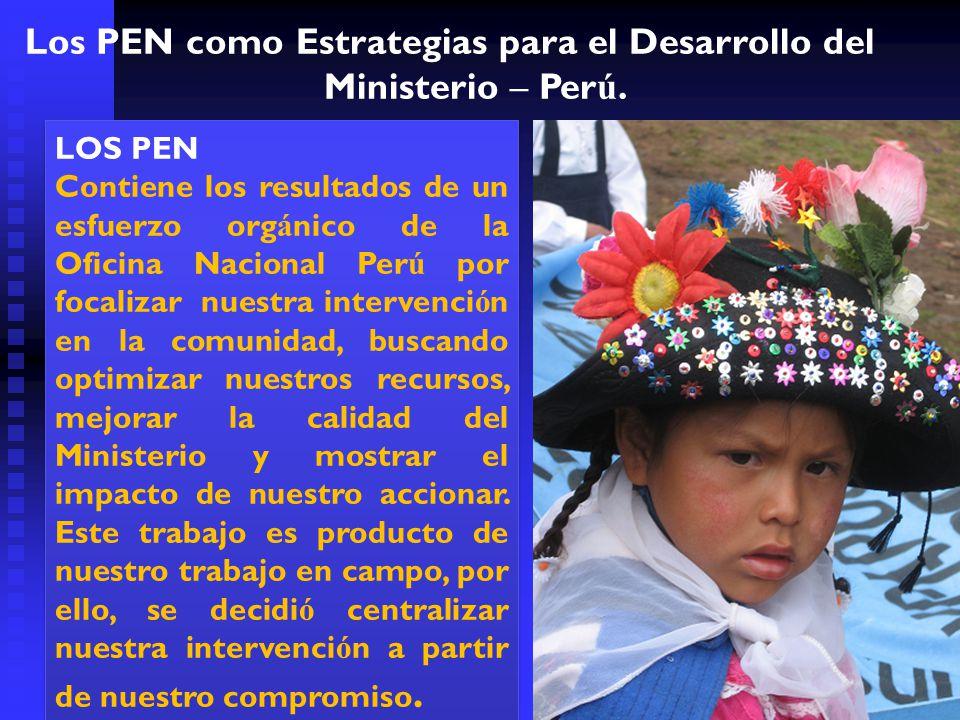 Los PEN como Estrategias para el Desarrollo del Ministerio – Perú.