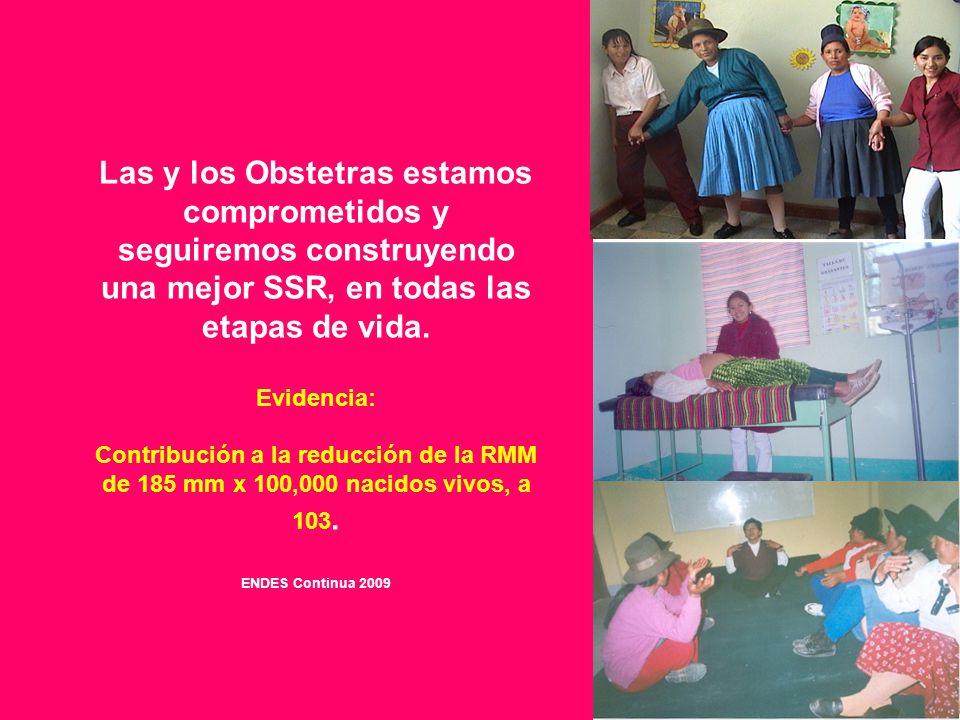 Las y los Obstetras estamos comprometidos y seguiremos construyendo una mejor SSR, en todas las etapas de vida.