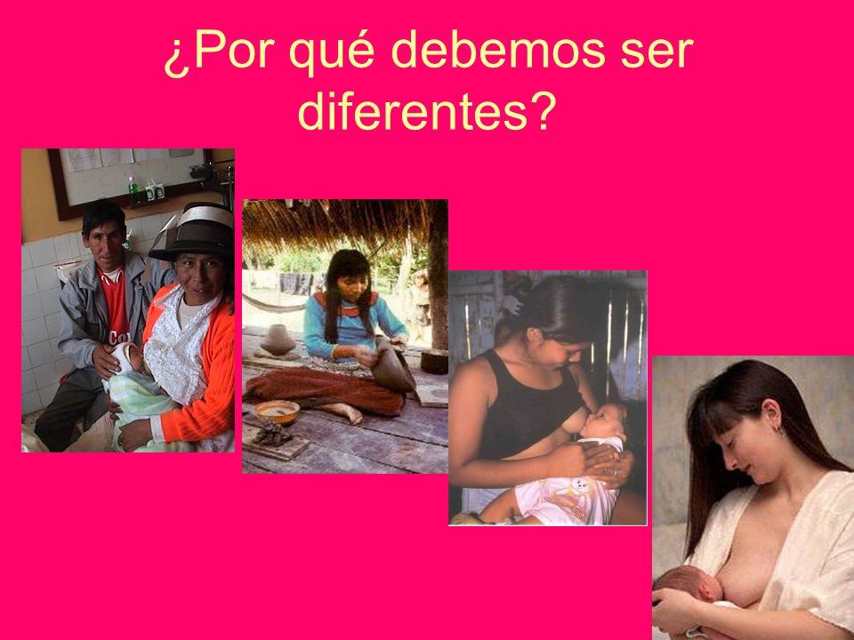 ¿Por qué debemos ser diferentes