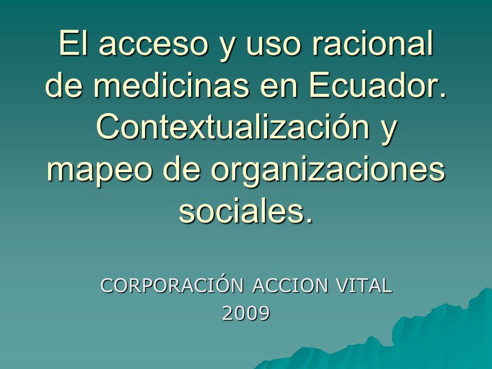 CORPORACIÓN ACCION VITAL 2009