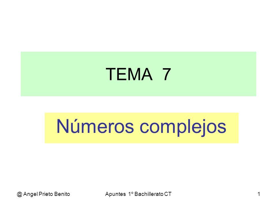 Apuntes 1º Bachillerato CT