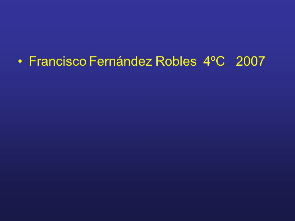 Francisco Fernández Robles 4ºC 2007