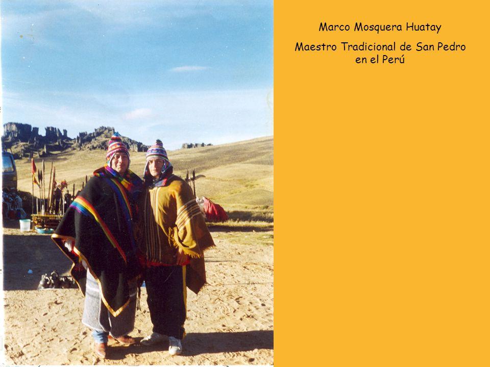 Maestro Tradicional de San Pedro en el Perú