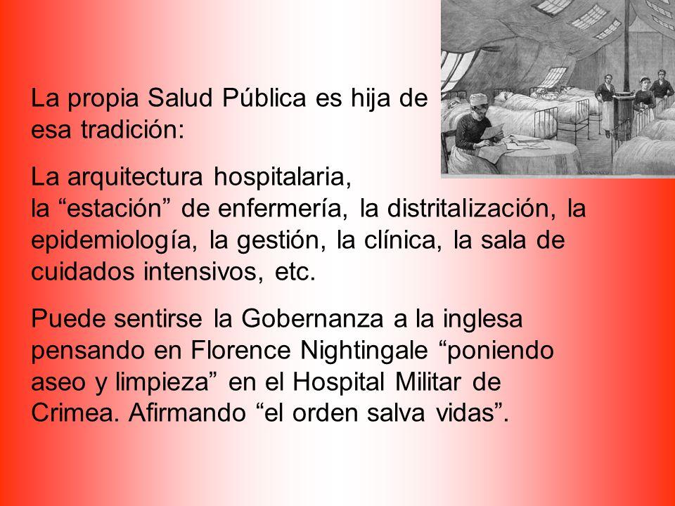 La propia Salud Pública es hija de esa tradición: