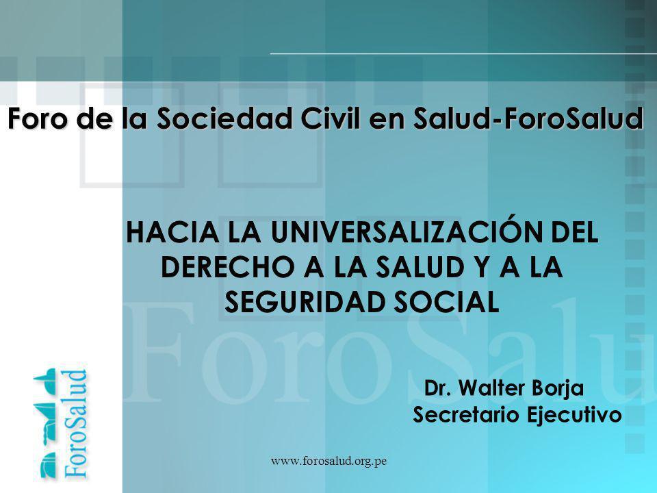 Foro de la Sociedad Civil en Salud-ForoSalud