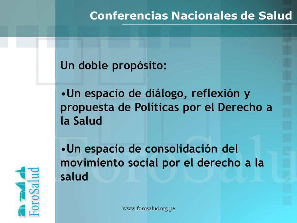 Conferencias Nacionales de Salud