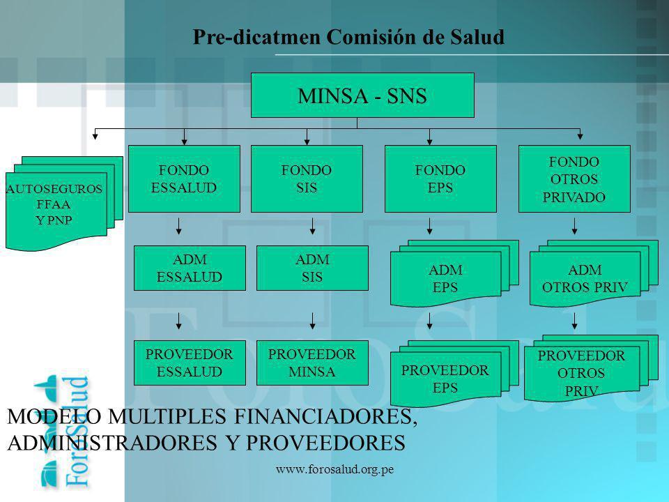 Pre-dicatmen Comisión de Salud