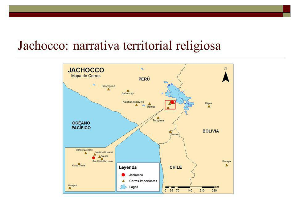 Jachocco: narrativa territorial religiosa