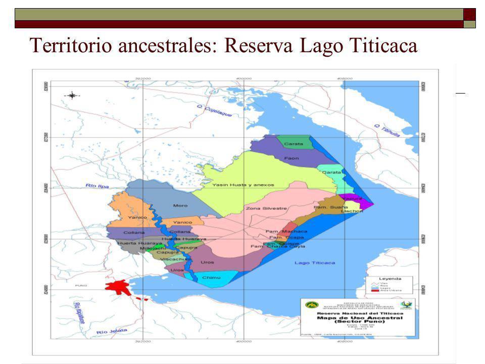 Territorio ancestrales: Reserva Lago Titicaca