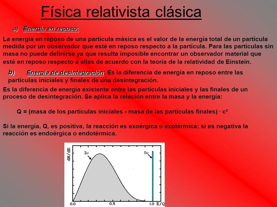 Física relativista clásica