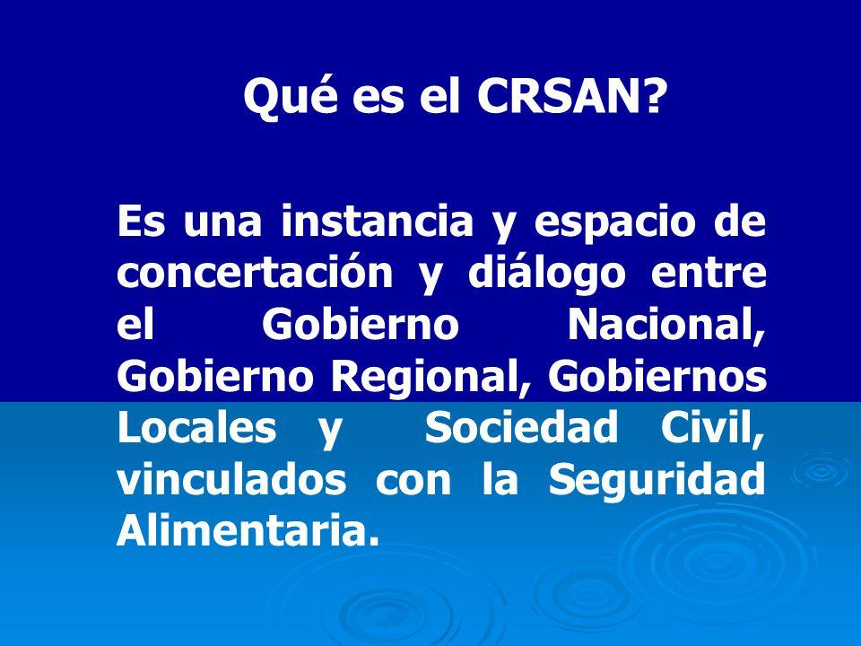 Qué es el CRSAN