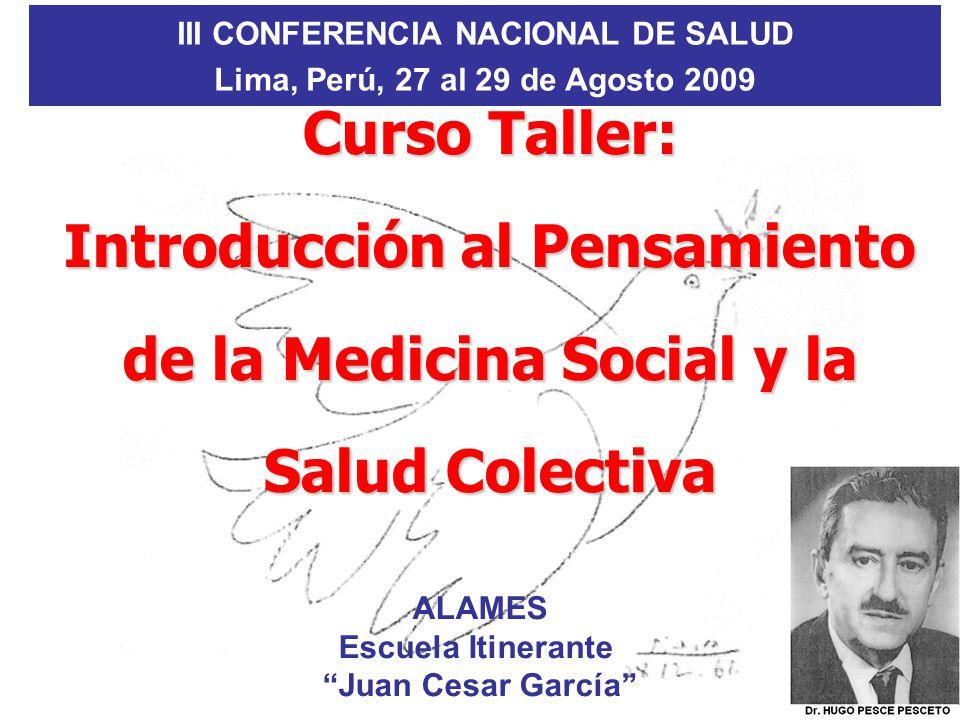 III CONFERENCIA NACIONAL DE SALUD