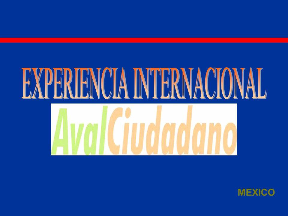 EXPERIENCIA INTERNACIONAL