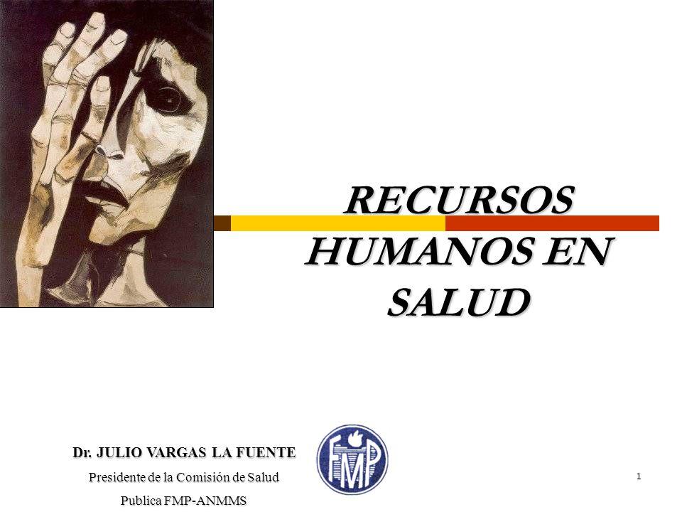 RECURSOS HUMANOS EN SALUD