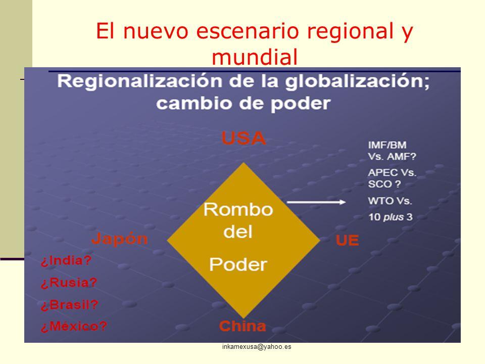 El nuevo escenario regional y mundial