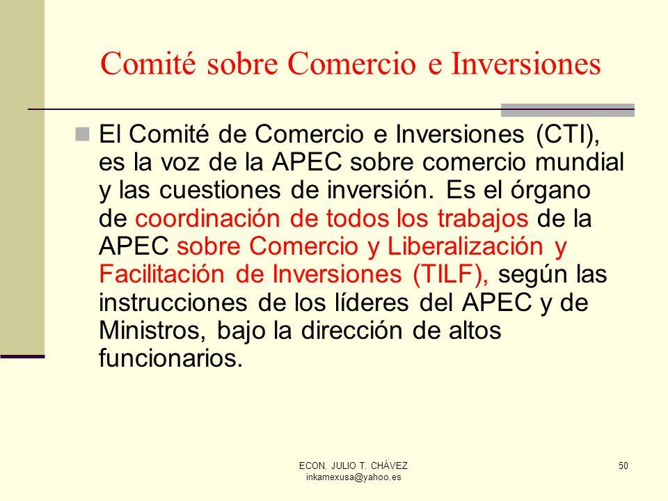 Comité sobre Comercio e Inversiones