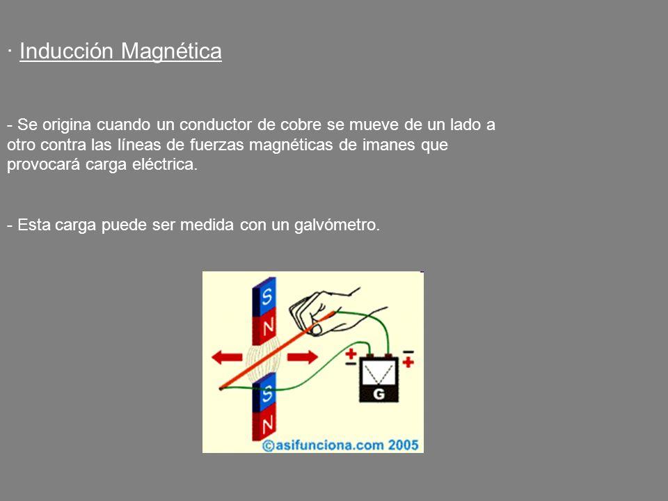 · Inducción Magnética