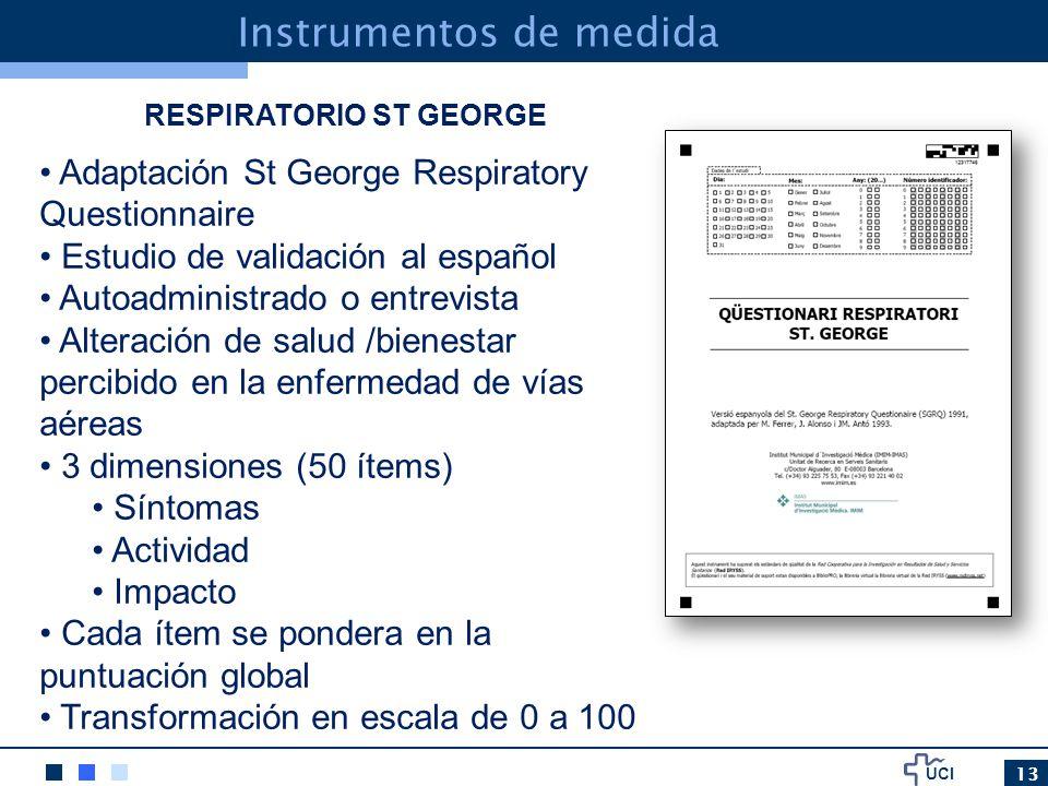 RESPIRATORIO ST GEORGE