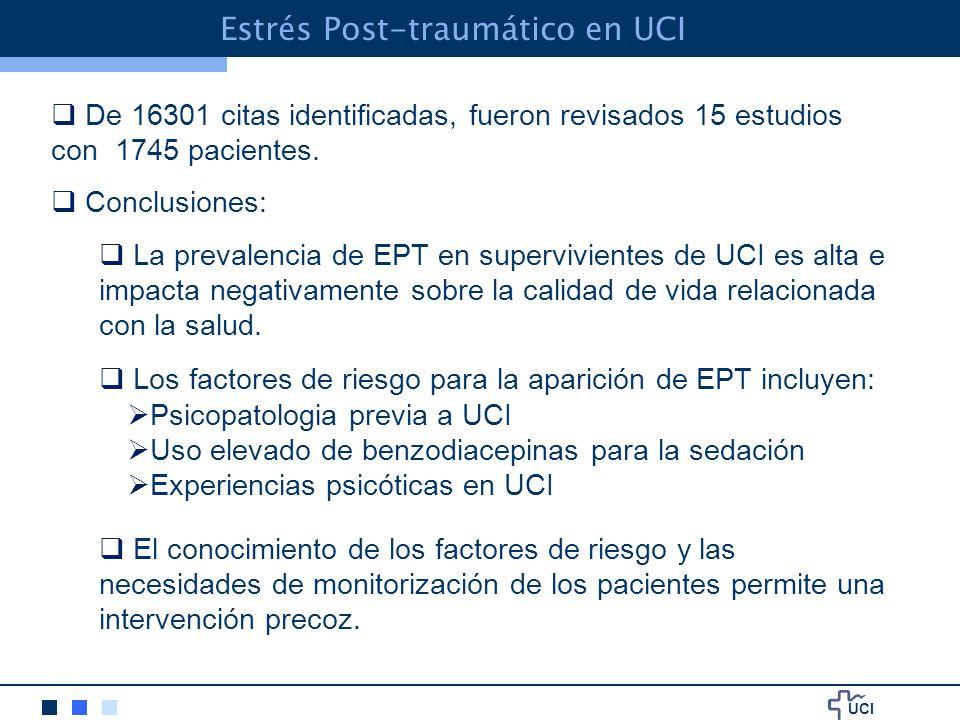 Estrés Post-traumático en UCI