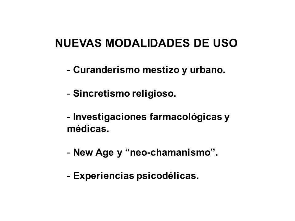 NUEVAS MODALIDADES DE USO