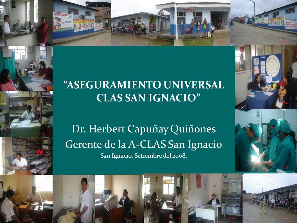 ASEGURAMIENTO UNIVERSAL CLAS SAN IGNACIO
