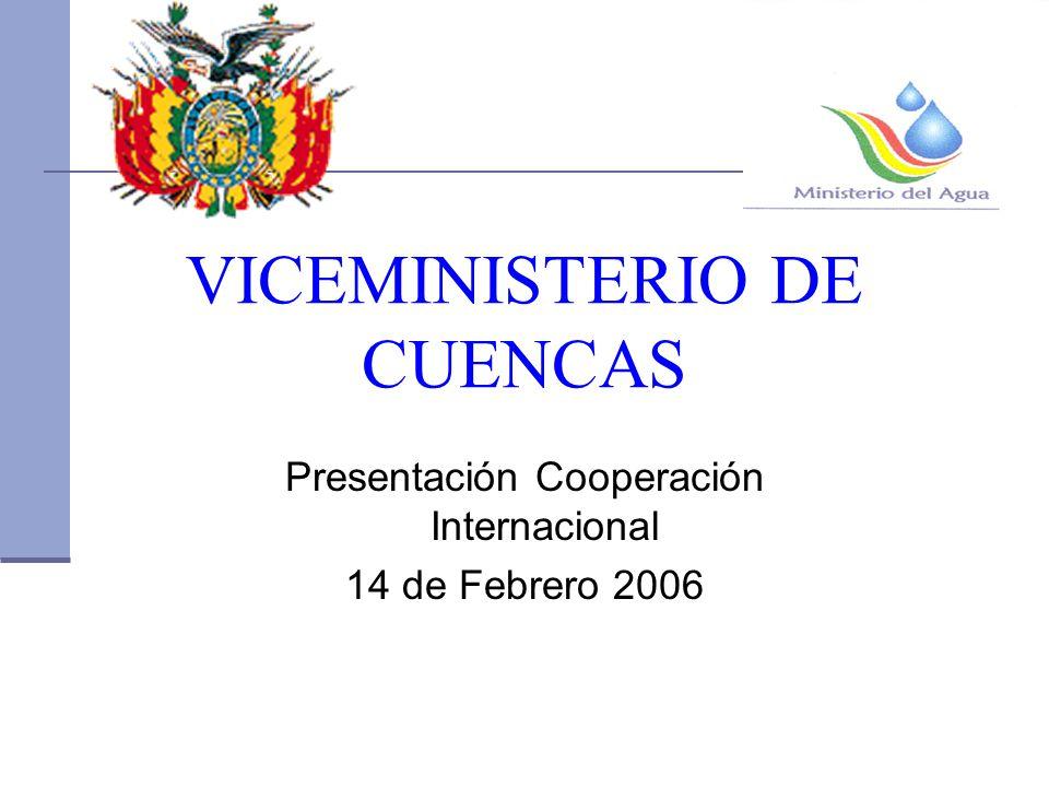 VICEMINISTERIO DE CUENCAS
