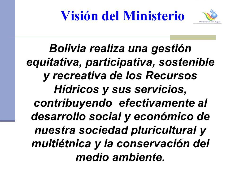 Visión del Ministerio