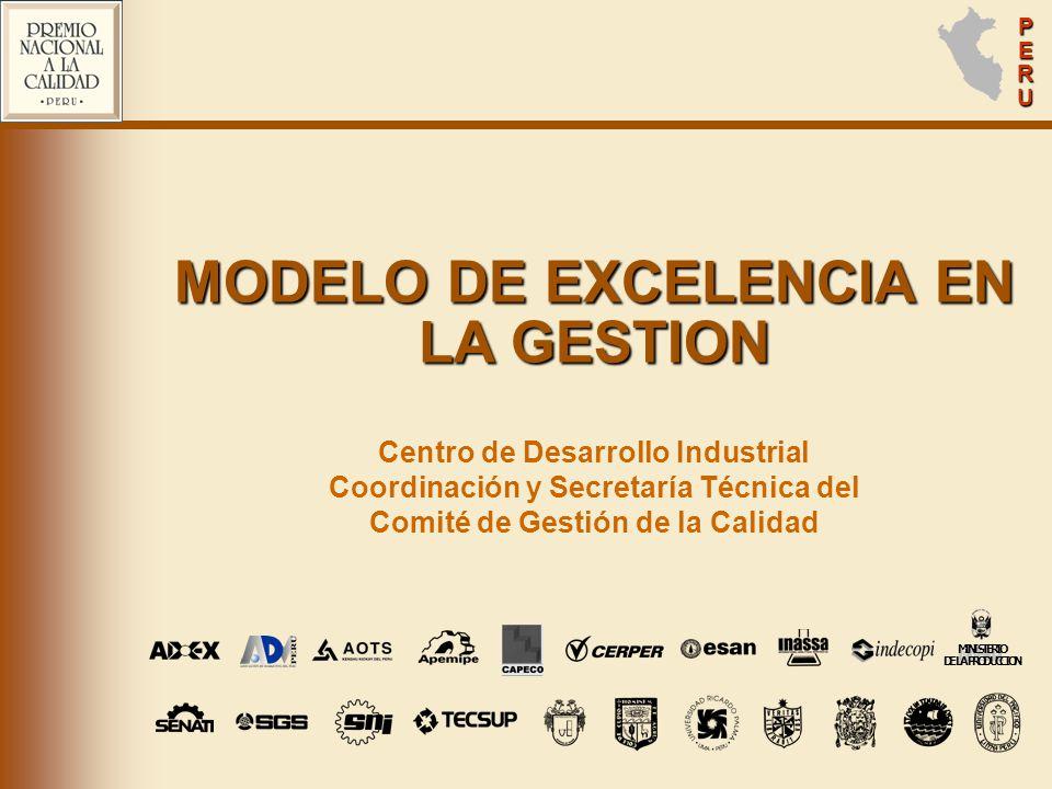 MODELO DE EXCELENCIA EN LA GESTION