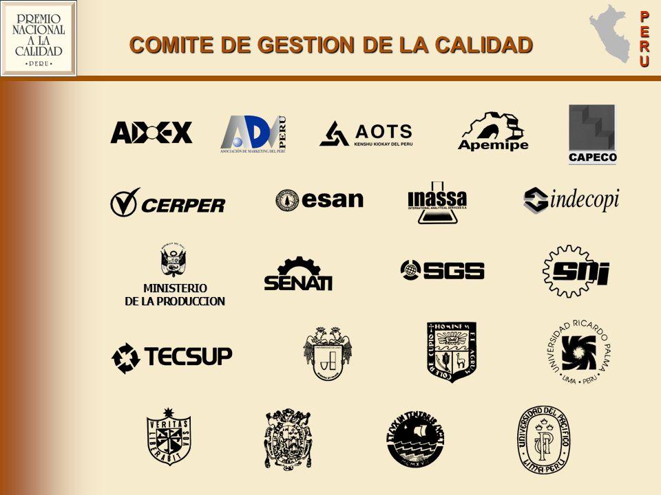COMITE DE GESTION DE LA CALIDAD