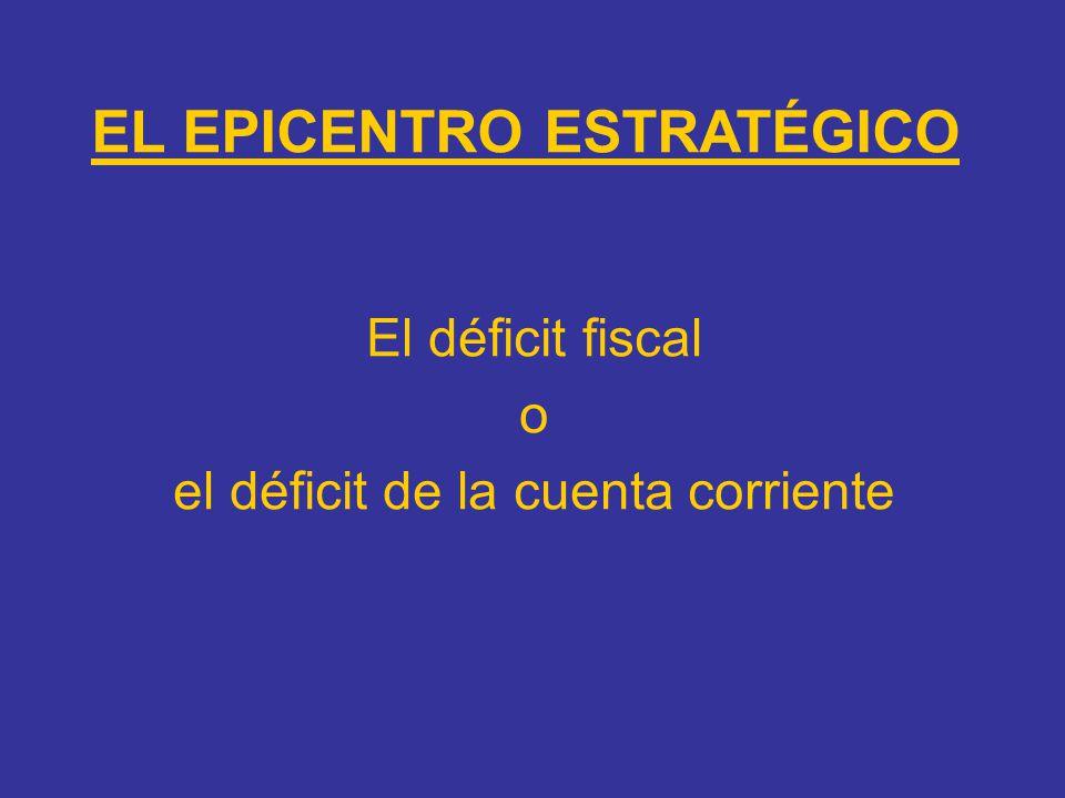 EL EPICENTRO ESTRATÉGICO