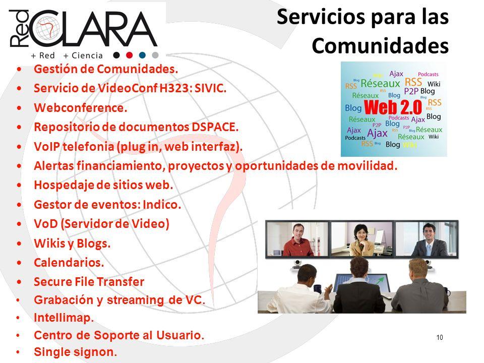 Servicios para las Comunidades