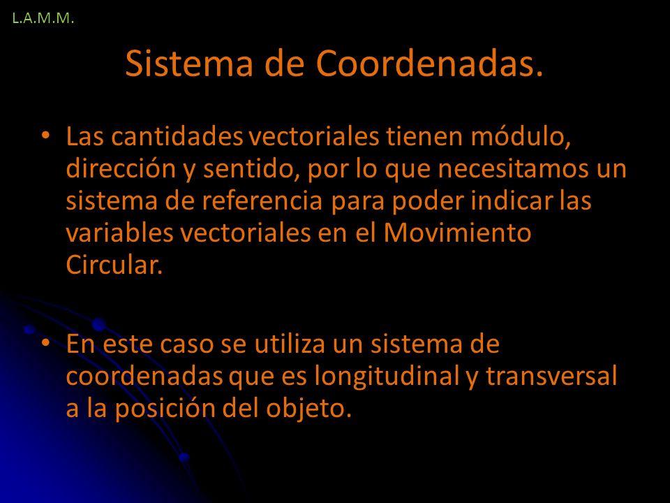 Sistema de Coordenadas.