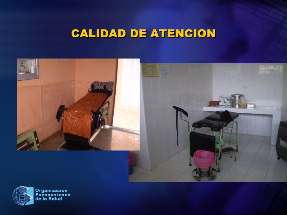 CALIDAD DE ATENCION