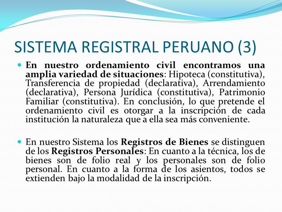 SISTEMA REGISTRAL PERUANO (3)