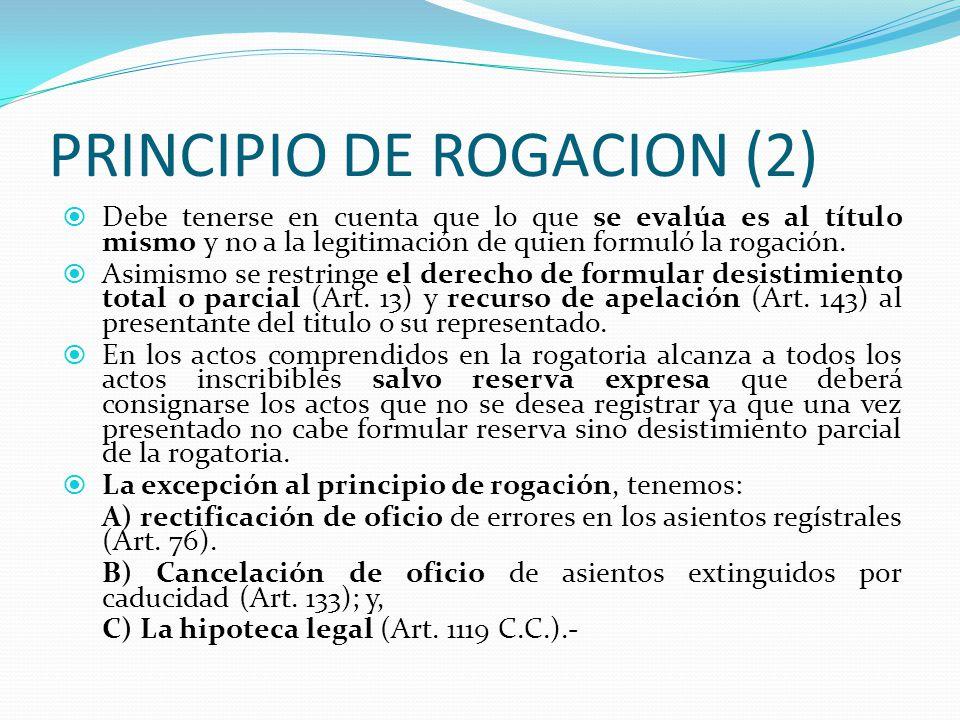 PRINCIPIO DE ROGACION (2)