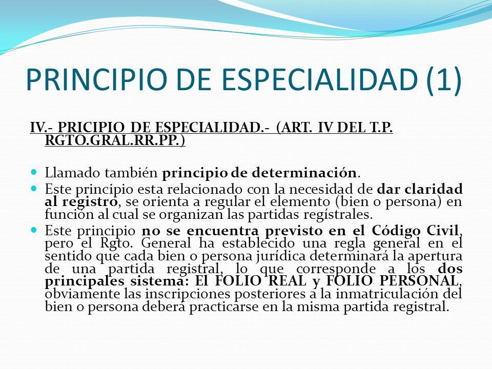 PRINCIPIO DE ESPECIALIDAD (1)