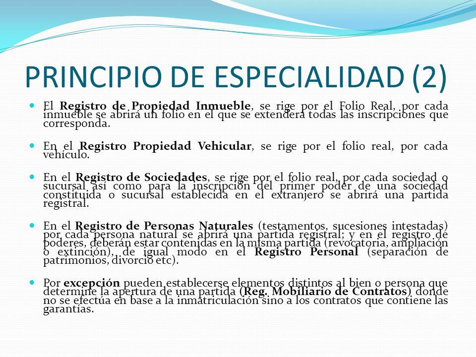 PRINCIPIO DE ESPECIALIDAD (2)