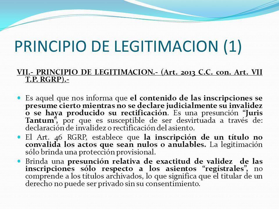 PRINCIPIO DE LEGITIMACION (1)