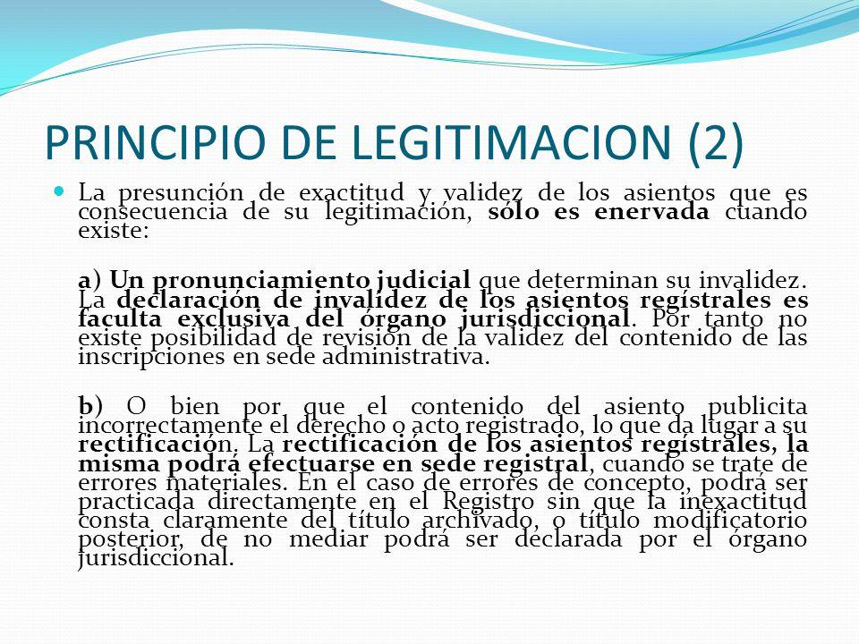 PRINCIPIO DE LEGITIMACION (2)