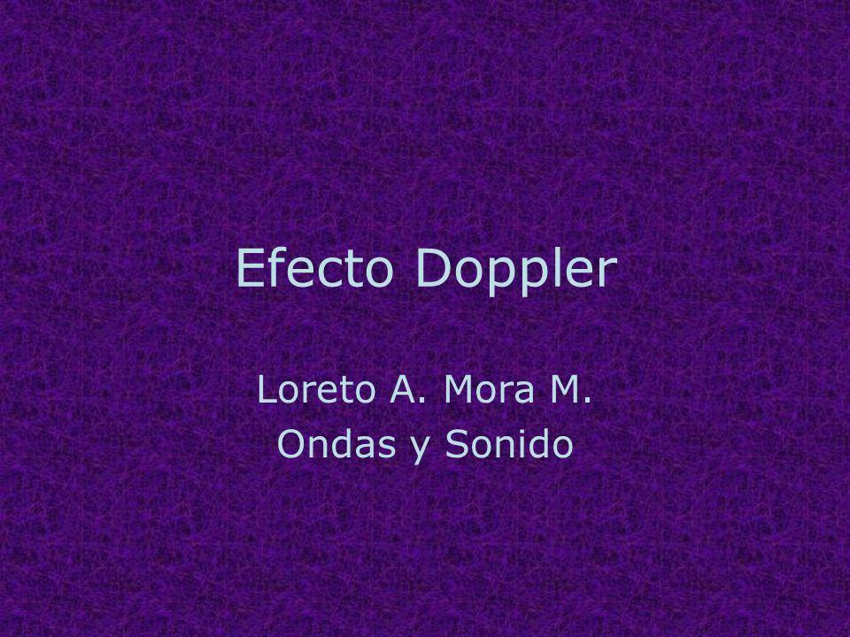 Loreto A. Mora M. Ondas y Sonido
