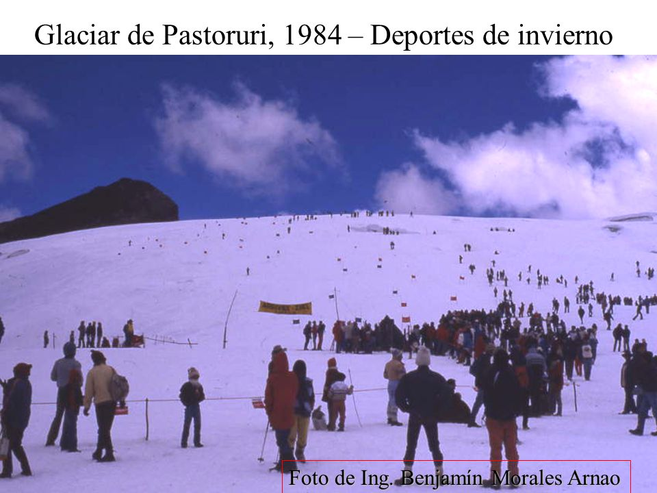 Glaciar de Pastoruri, 1984 – Deportes de invierno