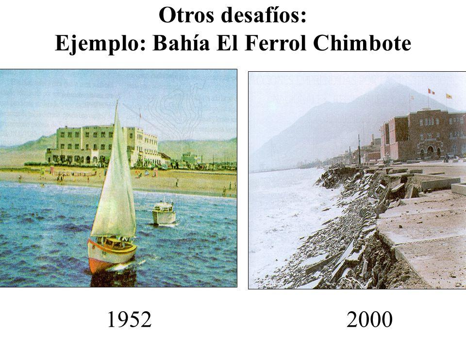 Ejemplo: Bahía El Ferrol Chimbote