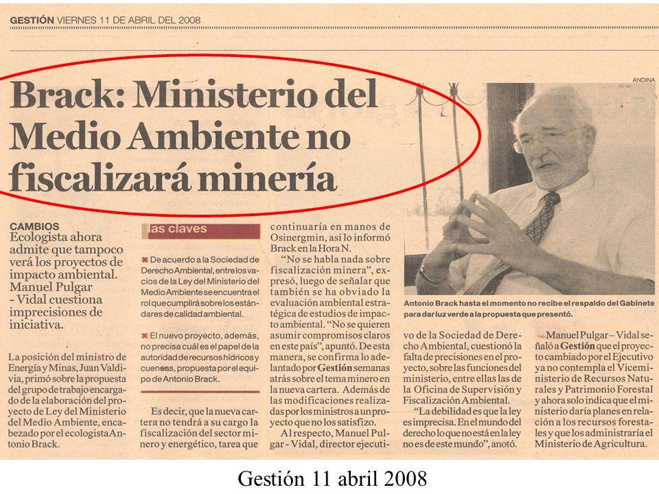 Gestión 11 abril 2008