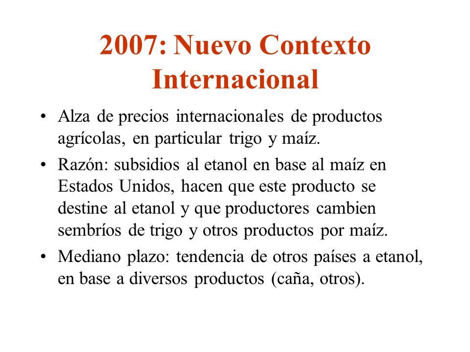 2007: Nuevo Contexto Internacional