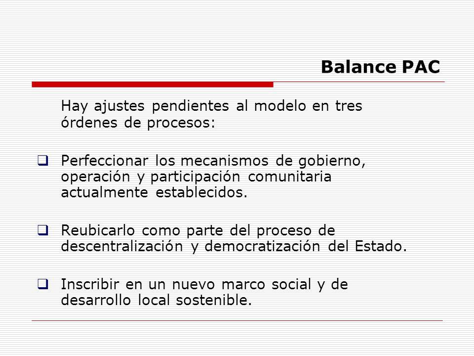 Hay ajustes pendientes al modelo en tres órdenes de procesos: